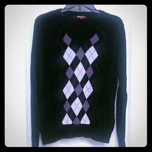 Merona Sweaters - Argyle Sweater. Merona. Lrg. Light weight.
