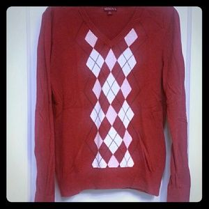 Merona Sweaters - ❤ RED Sweater. ❤ Light weight ❤