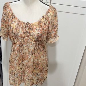 Allison Taylor Tops - Cute sheer blouse