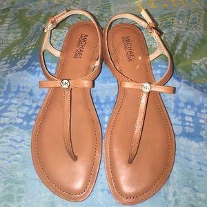 MICHAEL Michael Kors Shoes - Michael Kors Tan Sandals