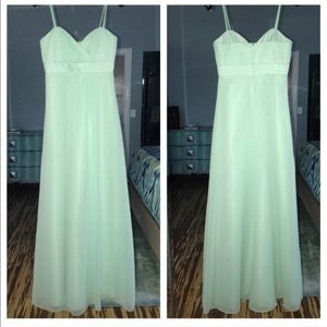Alfred Angelo Dresses & Skirts - Alfred Angelo turquoise bridesmaid formal dress