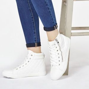 JustFab Shoes - High Top Sneakers