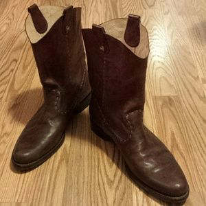 Barneys New York Shoes - Henry leather boots Barneys New York