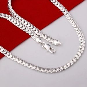 New 925 silver plated chain for men/ women