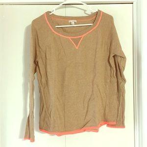 GAP neon detail sweater  XS