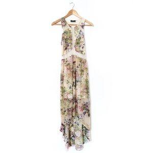 ASTR Dresses & Skirts - ASTR Lace Cutout Floral Dress