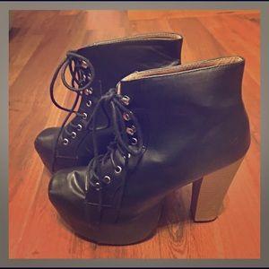Shoe Republic LA Shoes - Jeffrey Campbell-esque Booties