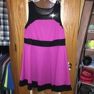 Xhilaration pink dress size XL