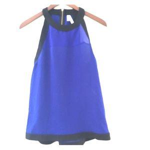 Truenyc. Tops - ❤️ Halter Royal Blue Top