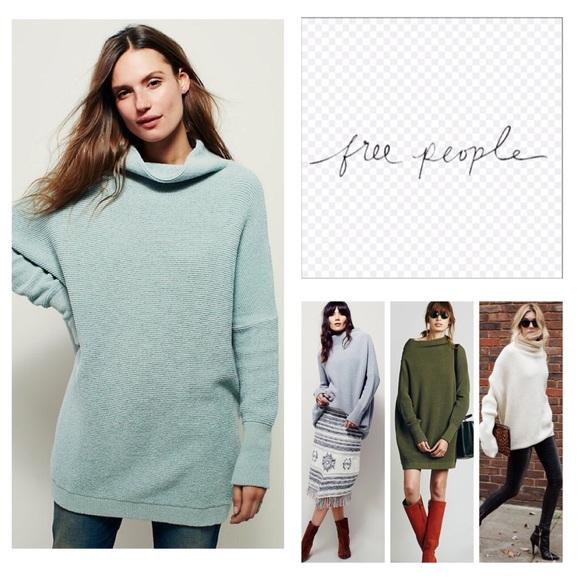 Free People Sweaters Ottoman Slouchy Sweater Tunic Nwot Poshmark