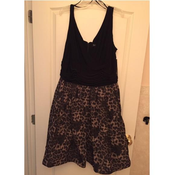 SL Fashions Plus Size Dress, Sleeveless A-Line 24W NWT