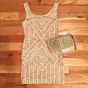 NWOT Adrianna Papell Sequin Dress