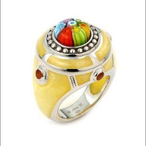 Alan K Jewelry - Murano Glass silver 925 ring by Alan K 2MR307
