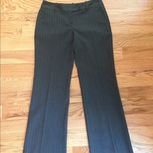 LOFT denim look-alike dress pants