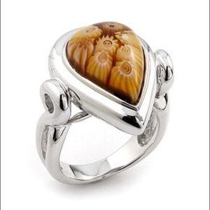 Alan K Jewelry - Murano Glass silver 925 ring by Alan K 2MR180