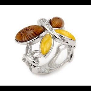 Alan K Jewelry - Murano Glass silver 925 ring by Alan K 2MR314