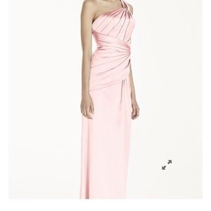 Stretch Satin Evening Gown Sz. 2