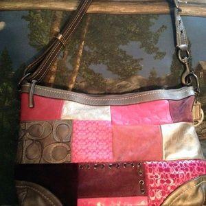 Coach Handbags - NWOT* authentic COACH LIMITED EDITION SHOULDER BAG