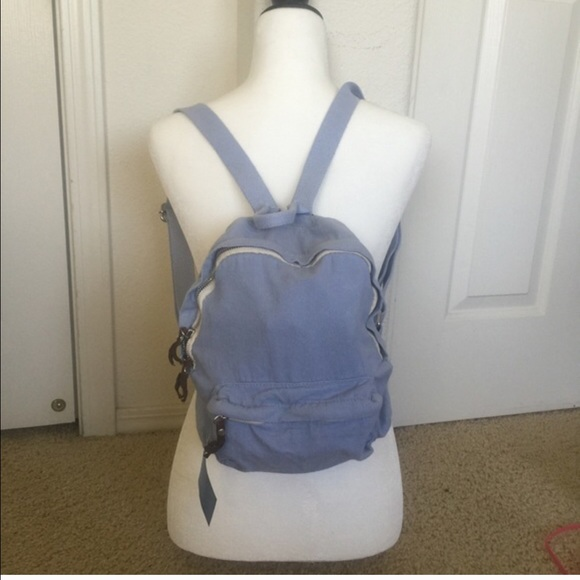 2ebb1f921f Brandy Melville Bags | Pastel Blue Mini Backpack | Poshmark