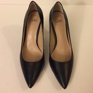 e3af3531c82 14th   Union Shoes - 14th   Union Black Leather Pumps 6.5