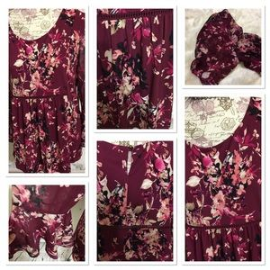 PerSeption Tops - PerSeption Floral Bell SLEEVE Blouse [TO-5]