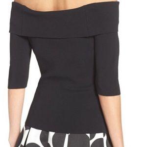 Eliza J Tops - Off the shoulder knit top