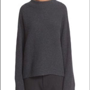 Crop Rib Wool & Cashmere Pullover