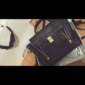 3.1 Phillip Lim Medium Pashli Satchel in Black