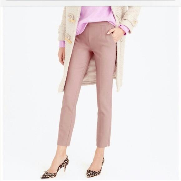 4ac82fc1d0e7 J. Crew Pants   Jcrew Martie Pant Blush Light Pink Mauve   Poshmark