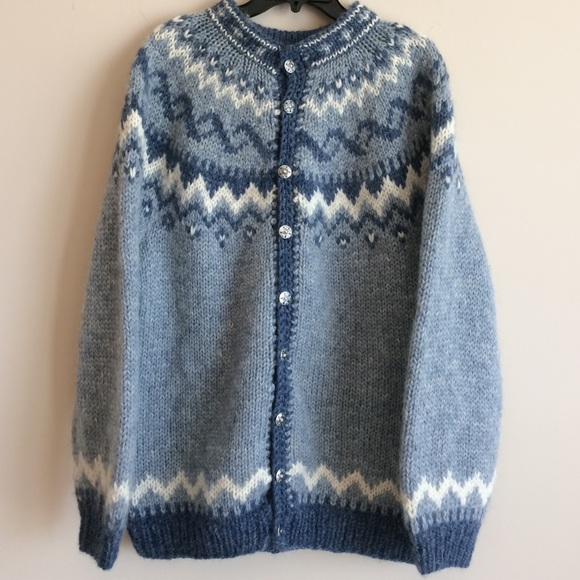 The Handknitting Association Of Iceland Sweaters Vintage Hand Knit
