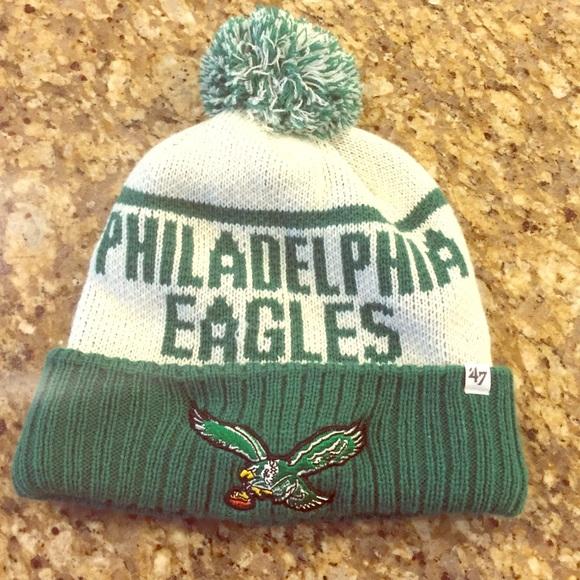 30565ce4051d4 47 Accessories Philadelphia Eagles Winter Hat And Mittens Poshmark
