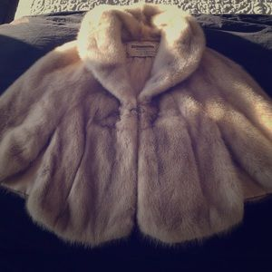 Ehrenberg  vintage  Real Rabbit Fur Cape