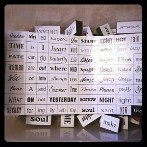 Word stamps