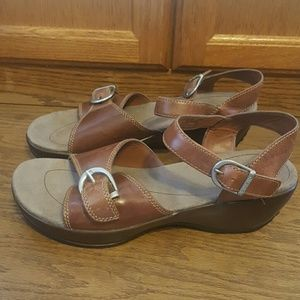 Eastland Shoes - NEW Eastland leather wedge sandals