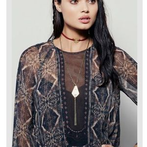 Free People Jewelry - NWT free people Stella high low choker necklace