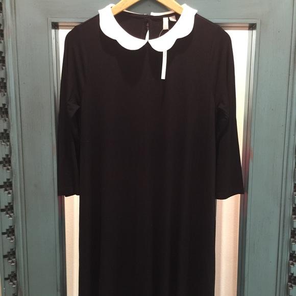 27778500d72 ASOS Maternity Dresses   Skirts - ASOS maternity black swing dress scallop  collar
