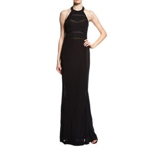 ABS Black Evening Gown