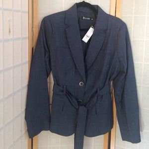 7th Ave New York & Company Blue Blazer