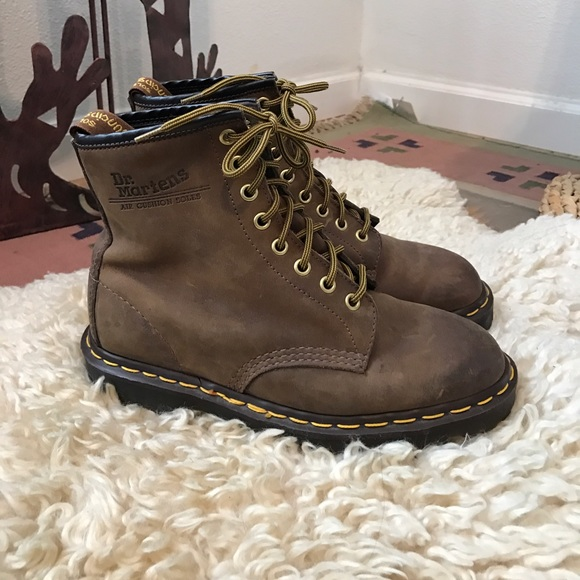 dr martens dr martens brown suede boots from s