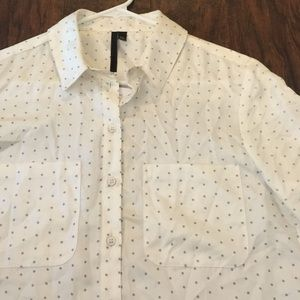 Topshop 100% Silk Button Down *1 Day Sale