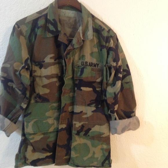 1bef82384eeb6 Jackets   Blazers - ⚡️sale! Camouflage military jacket oversized camo