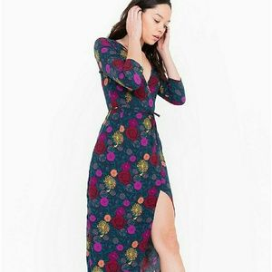 NWT American Apparel wrap dress