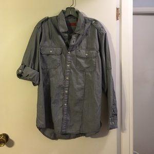 Izod Other - Izod blue/white stripe men's shirt