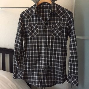 Diesel Plaid Button Down Shirt