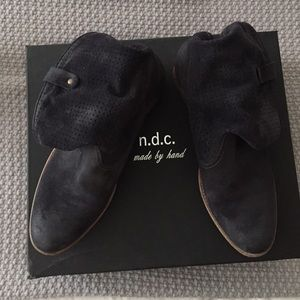 n.d.c. Shoes - N.D.C. Made by Hand Black Ankle boots