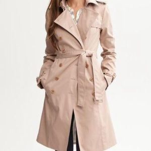 Final reduction! Banana republic khaki trench coat