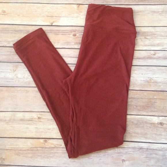 da49afec3d1 One Size rust colored leggings🍂🍂