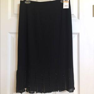 MSK Dresses & Skirts - Black skirt by MSK. Size small. NWT.