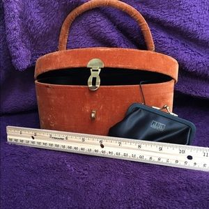 Very Vintage Velvet PURSE with J.J. Coin attached