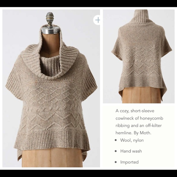 74% off Anthropologie Sweaters - Anthropologie MOTH Sweet Cables ...